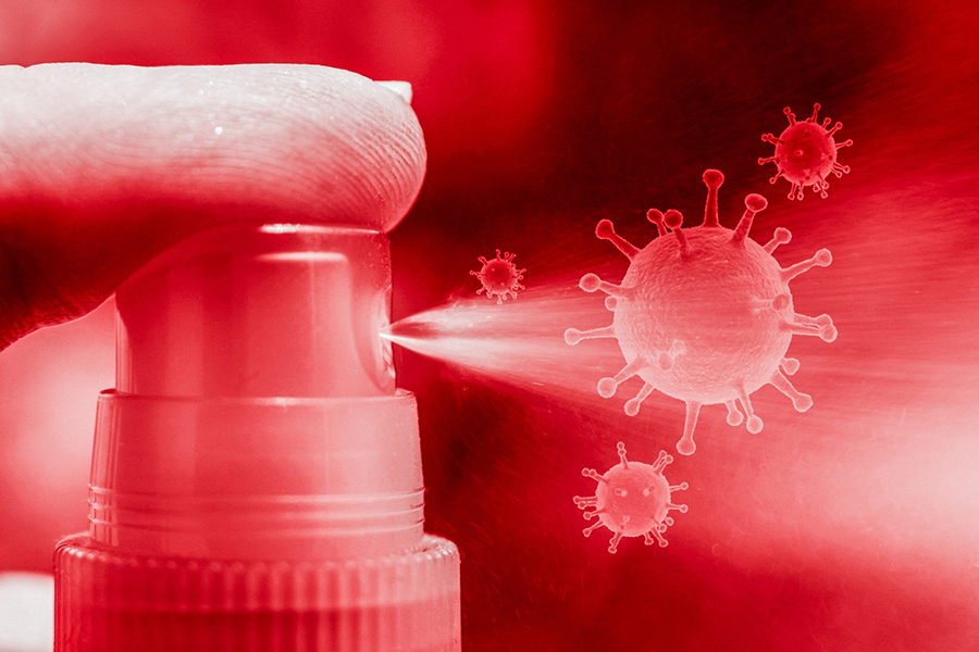 imagen de El spray bucal utilizará biomoléculas para atrapar al virus e impedir su propagación. / Pixabay
