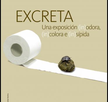 Cartel Exposición Excreta