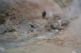Experimentos en manantiales volcánicos de la península de Kamchatka, Rusia. / Nikolay A. Cherny
