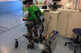 La nueva plataforma robótica CPWalker ha sido diseñada en el Centro de Automática y Robótica./ CAR (CSIC-UPM)