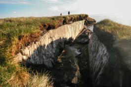 Permafrost en Alaska