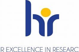 Logo de la estrategia HRS4R, por el que la Comisión Europea reconoce los esfuerzos realizados por las instituciones que han aplicado la Carta y el Código.