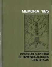 Portada Memoria 1975-1976