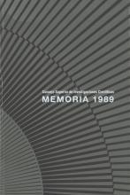 Portada Memoria 1989