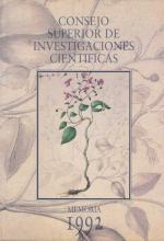 Portada Memoria 1992