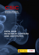 Portada del Documento de Datos 2012 (PDF)