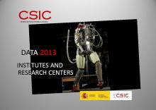 Portada del Documento de Datos 2013 (PDF)