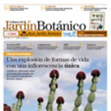 Cubierta El diario del jardín botánico