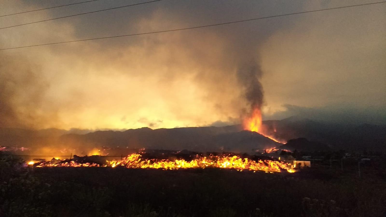 imagen de Imagen de la colada del volcán de Cumbre Vieja, en El Paso, en la isla canaria de La Palma. / Inés Galindo, IGME-CSIC